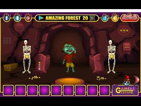 G4e Halloween Party House Escape 04 Walkthrough