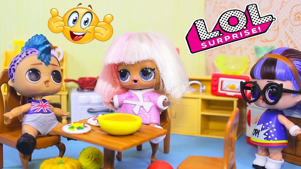 Куклы ЛОЛ   Смешные мультфильмы про LOL Dolls Surprise #29 ...