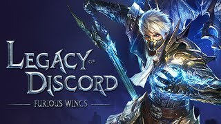 Legacy of Discord - Furious Wings - ЛУЧШАЯ МОБИЛЬНАЯ RPG?