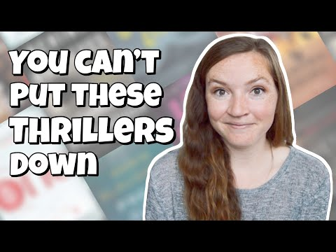 Top 10 Thriller Books You Can't Put Down // thriller book recommendations