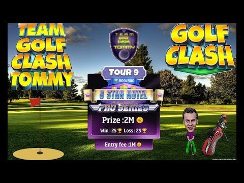 Golf Clash tips, Hole 9 - Par 5, Milano - Tour 9 - 6 Star Hotel, GUIDE/TUTORIAL