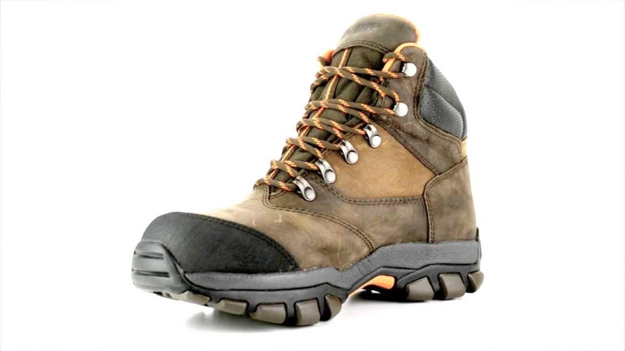 Men's Wolverine W04978 Steel Toe Waterproof Hiker Work Boot ...
