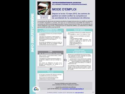 CIG VERSAILLES Info Service   Commission de réforme