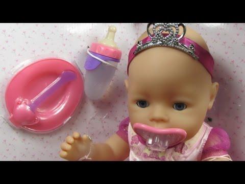 Baby Born Interactive Girl Zapf Creations Youtube