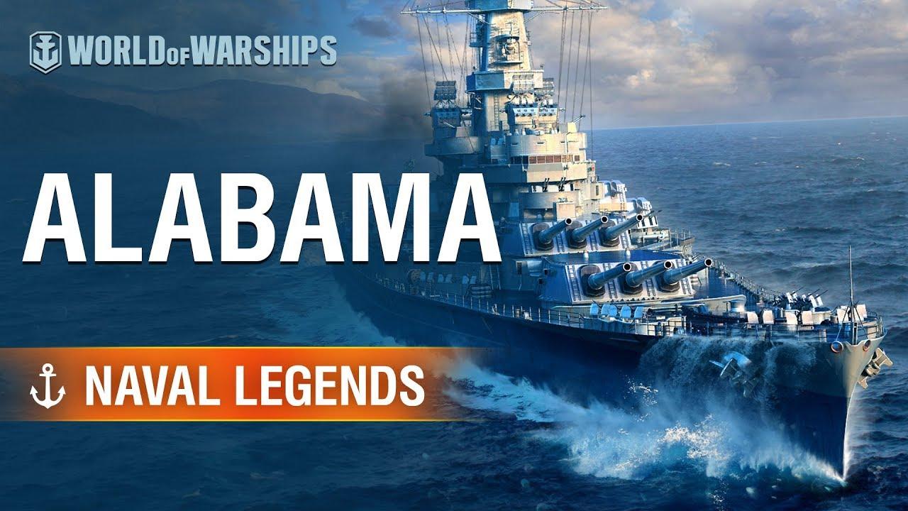 Naval Legends: Battleship USS Alabama | World of Warships ...