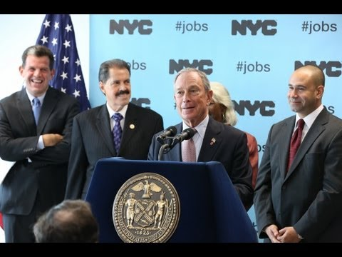 Mayor Bloomberg Opens New Business Solutions and Workforce1 Center in The Bronx