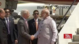 PM Modi receives warm welcome on his arrival in US