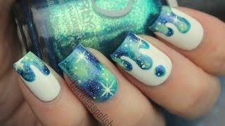 Galaxy Drip nail tutorial