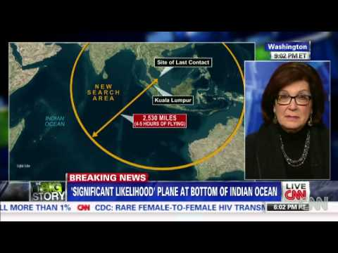 """Barbara Starr: """"Missing Malaysian Airlines Flight Is At The Bottom Of The Indian Ocean"""""""
