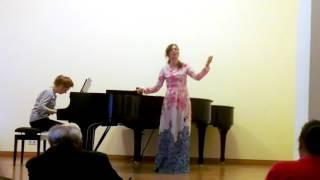 Camille Saint-Saens - La splendeur vide - Diana Kirienko (Gnesin Academy, Moscow)