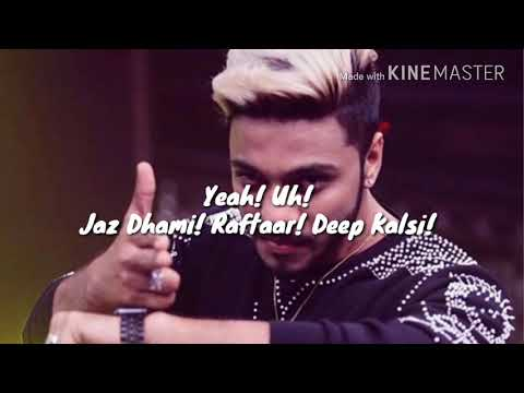 JEAN TERI LYRICS – Raftaar, Jaz Dhami,...