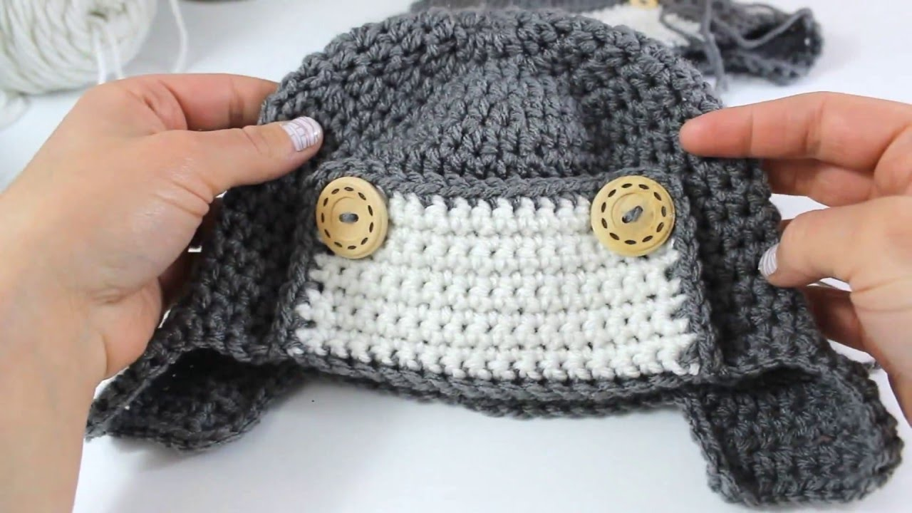 c7a5b0318 How to Crochet a Cute Toddler Aviator Hat