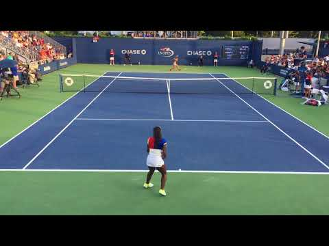 04_Sachia Vickery vs Sofia Kenin (US Open 2017 - 2nd Round)