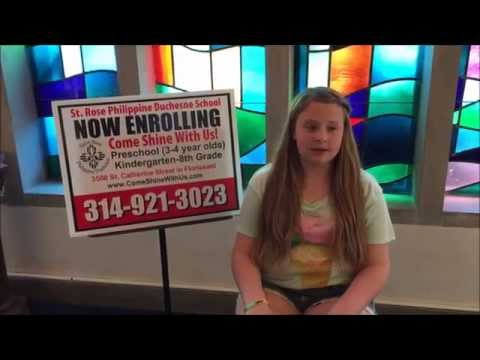 What Students Say: Lette at St. Rose Philippine Duchesne School
