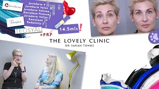 Non-surgical Filler Treatment with PRP & Injectable Moisturiser - Laugh Lines, Tear-trough & Lips