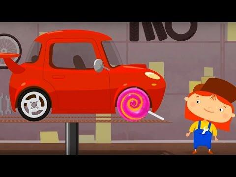 Мультфильм про машинки - Доктор Машинкова 🚗 - Спортивный автомобиль и знак 'Ограничьте скорость'🏎