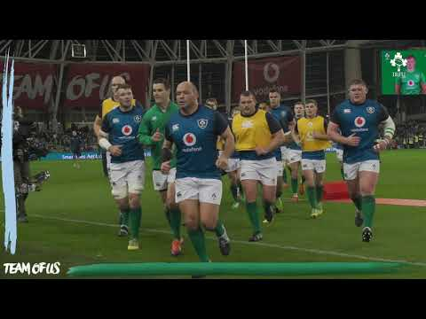 Irish Rugby TV: Ireland v Argentina Tunnel Cam