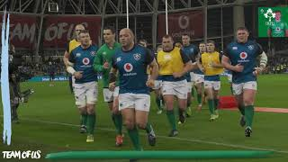 Irish Rugby TV: Ireland v Argentina Tunnel Cam At Aviva Stadium
