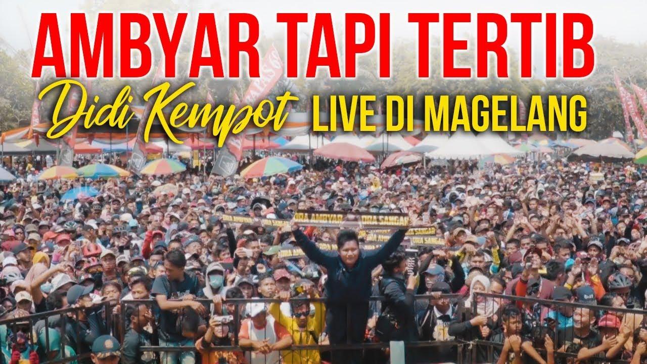 Ambyar Tapi Tertib Layang Kangen Didi Kempot Live Di Mungkid