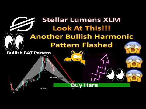 Stellar Lumens XLM Look At This!!! Another Bullish Harmonic Pattern Flashed