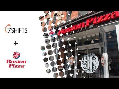 7shifts + Boston Pizza