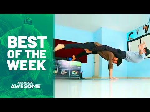 Best of the Week: Adaptive Skills, Trickshots & More   People Are Awesome