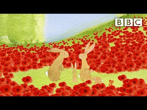 Beautiful animation sees war as experienced by animals | Poppies - BBC