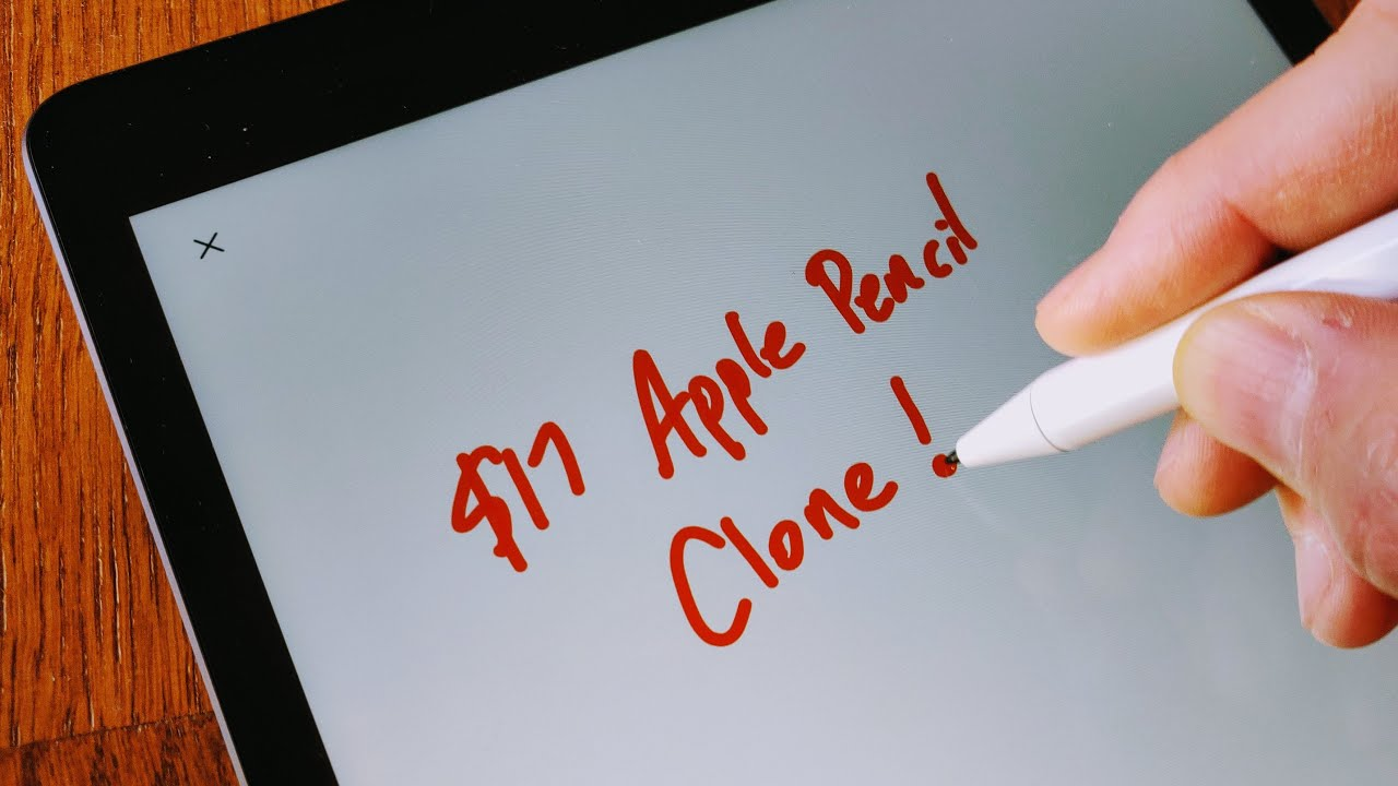 The 17 Chinese Apple Pencil Clone Youtube