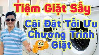Hướng dẫn sử dụng máy giặt LG và ELECTROLUX cho tiệm giặt sấy