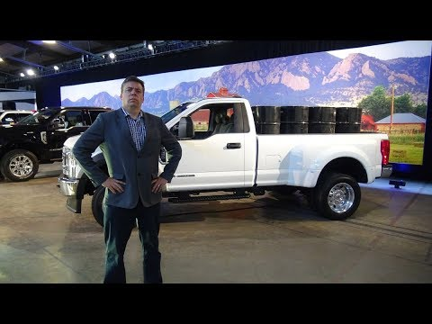 2020 Ford Super Duty Reveal Part One