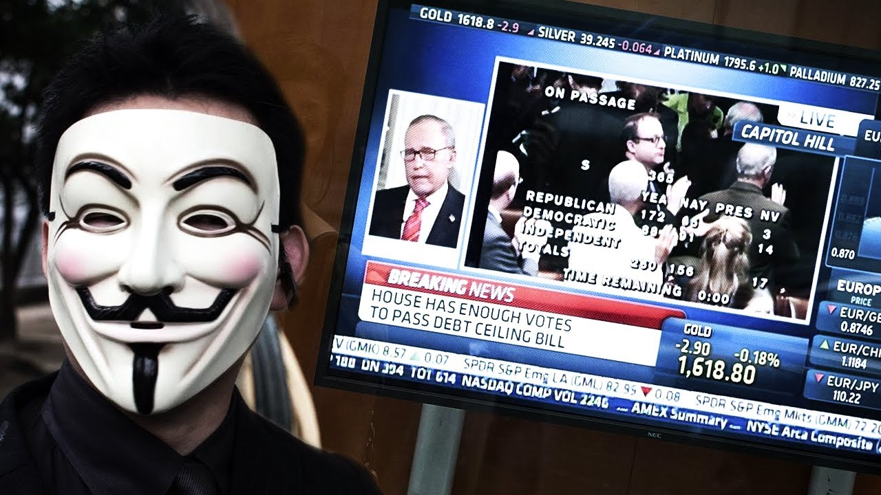 Anonymous - The world we currently live in... (2017-2018)