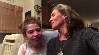 Tenth Anniversary Greetings - Lisa and Haley Smith, Haley is My Hero