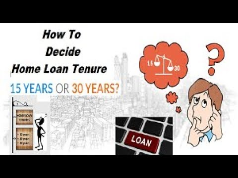 Home loan Tenure | How to Decide