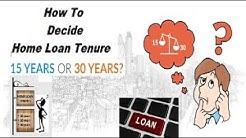 Home Loan Tenure | Decide Home loan Tenure