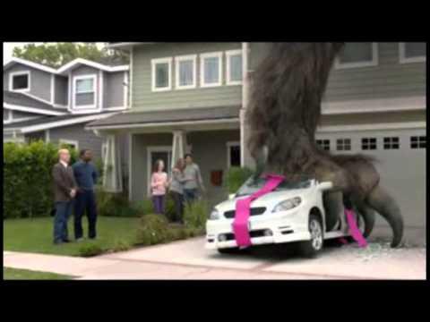 Farmers Insurance Monster Foot commercial