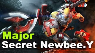 SECRET vs Newbee.Y Crazy Match Major Dota 2