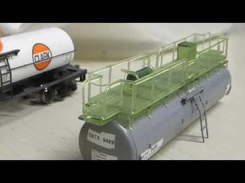 N scale Southern Pacific Water Car project update 1