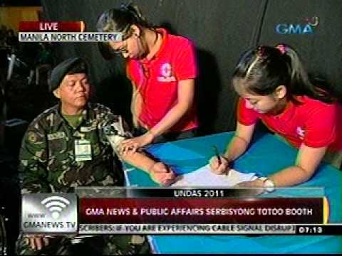 24 Oras (103111) GMA News and Public Affairs Serbisyong Totoo booth