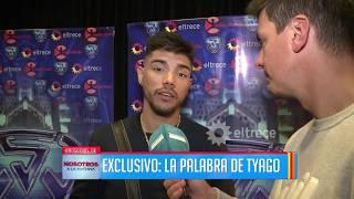 Tyago Griffo habló tras el escándalo entre su mamá y Rocío en Showmatch