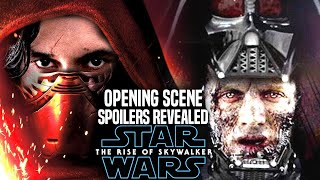 The Rise Of Skywalker Opening Scene Spoilers Revealed! (Star Wars Episode 9)
