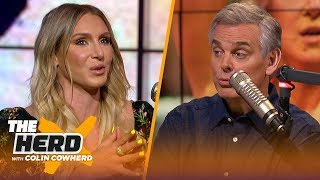 Charlotte Flair on growing WWE women's division, grueling schedule   WWE   THE HERD