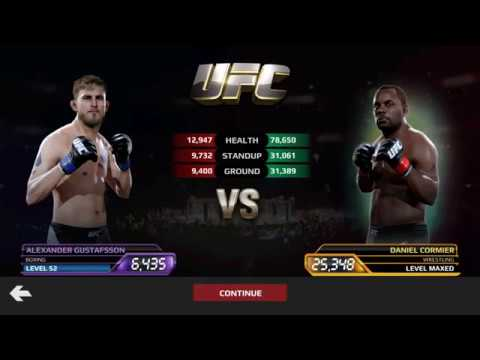 UFC Mobile - Final Fight With Alexander Gustafsson