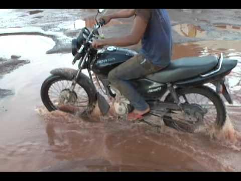 Confresa: Período chuvoso danifica ruas e causa transtorno a população