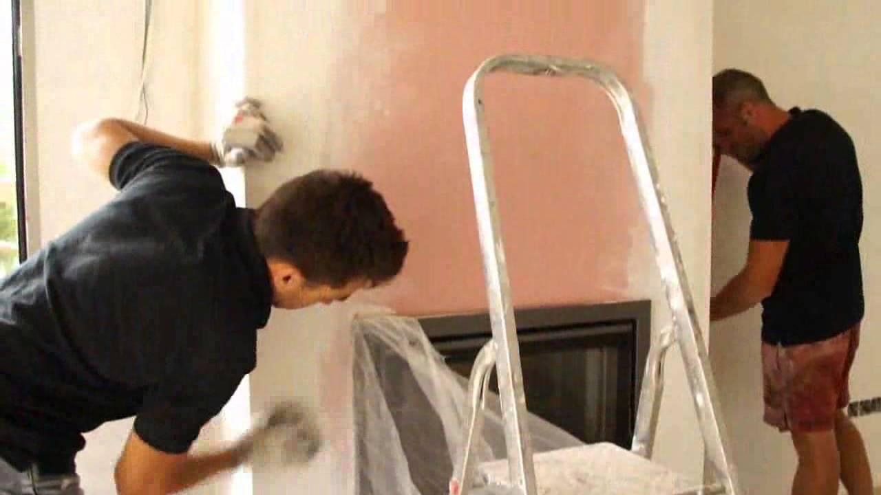 Como se instala una chimenea met lica de le a en tu hogar youtube - Como colocar una chimenea de lena ...