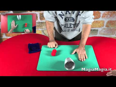 Chop cup magic tricks