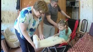 Инвалидная коляска для ребенка стала камнем преткновения(, 2017-06-09T04:14:06.000Z)