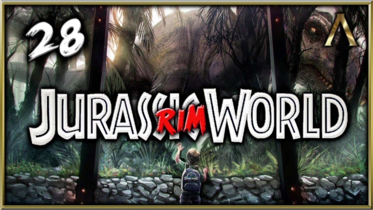 Jurassic RimWorld - Dinosaur Theme Park Pt 28 -