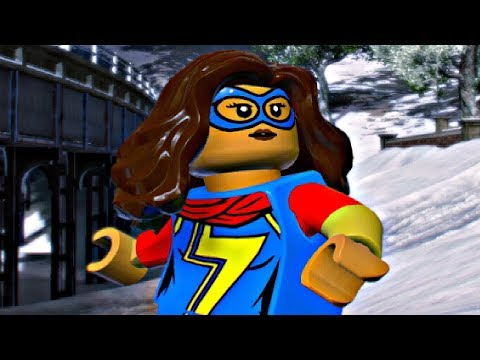 LEGO Marvel Super Heroes 2 - MS.MARVEL Free Roam Gameplay (Kamala Khan)