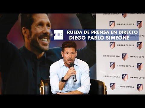 Rueda de Prensa de Diego Simeone semifinales de Champions League contra el Real Madrid