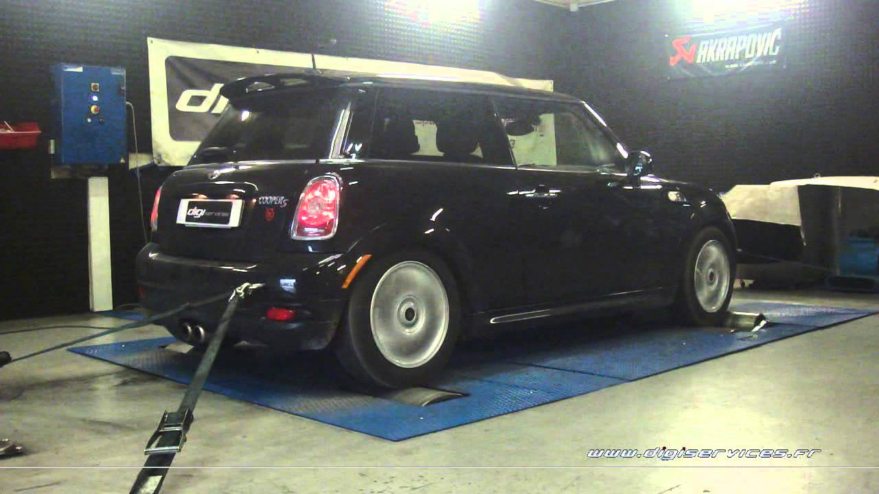mini cooper s 1 6 t 184cv reprogrammation moteur 212cv digiservices paris 77 dyno youtube. Black Bedroom Furniture Sets. Home Design Ideas